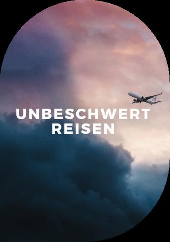 Entspannt Reisen im Flugzeug – ganz ohne Nebengeräusche.