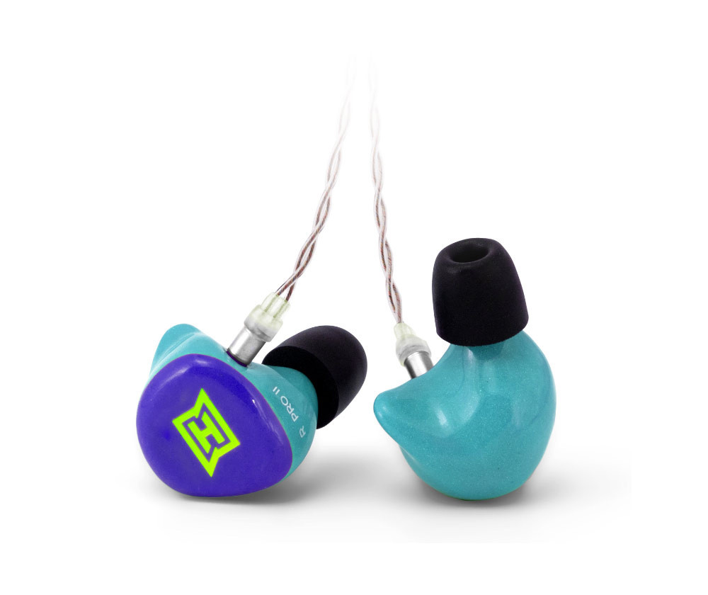 Produktfoto des HEAROS PRO 2 unifit. Der HEAROS PRO 2 unifit ist ein In Ear Kopfhörer, passend für jedes Ohr, und eignet sich für den Einstieg ins professionelle In Ear Monitoring – für satten Sound für Musiker auf der Bühne.