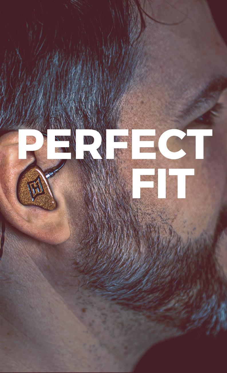 HEAROS Perfect Fit – die angepassten In Ears sind nur für deine Ohren bestimmt und verrutschen garantiert nicht!