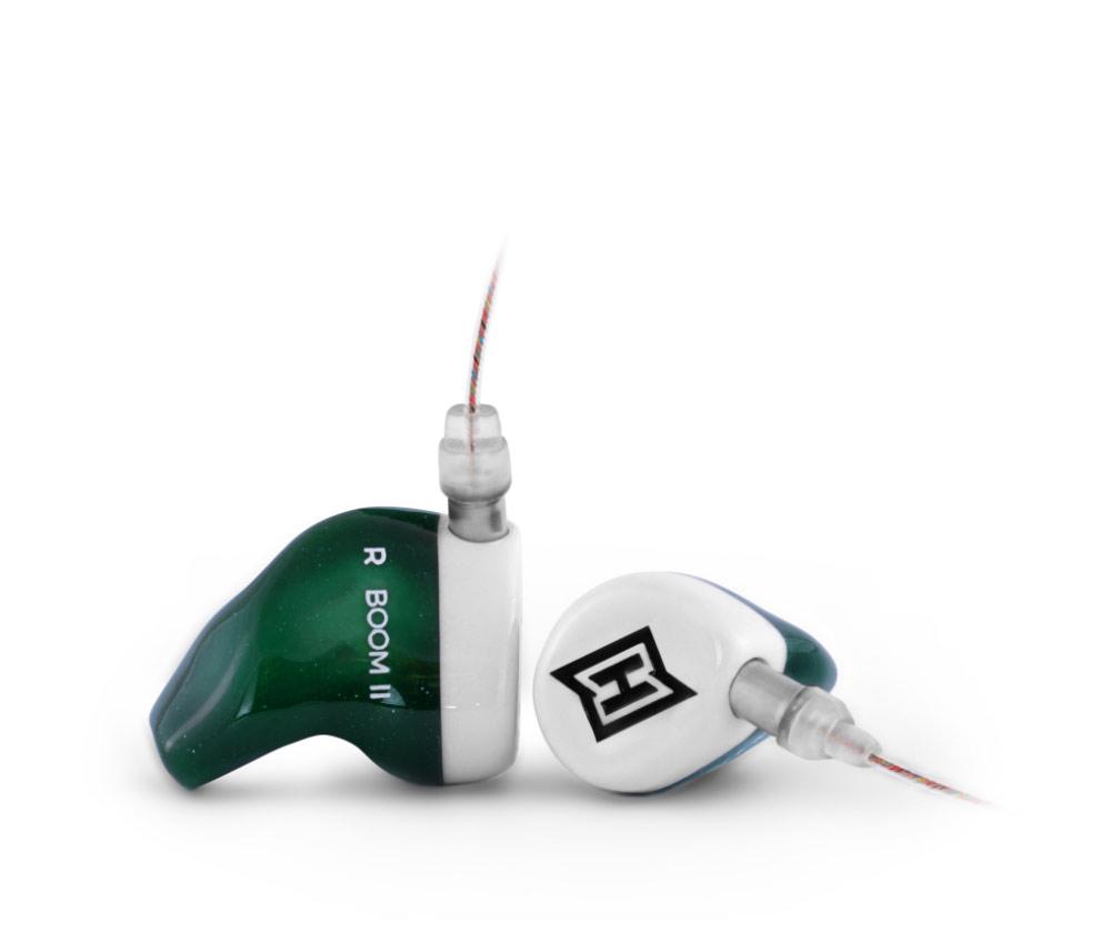 Produktfoto des HEAROS Boom 2. Der HEAROS Boom 2 bietet perfekten Sound für Sport und Freizeit und besticht zudem mit maximalem Tragekomfort dank individueller Anpassung an die Ohren.